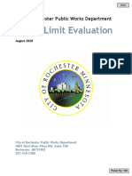 Speed Limit Evaluation