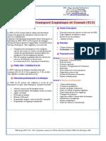 BTS DUT en Transport Logistique et Transit (TLT)