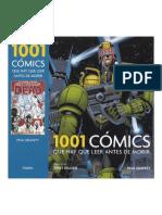 1001 quadrinhos para ler antes de morrer
