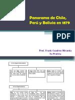 Panorama de Chile, Perú y Bolivia en