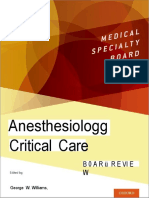 (Medical Specialty Board Review) George Williams, Navneet Grewal, Marc Popovich - Anesthesiology Critical Care Board Review-Oxford University Press (2019)