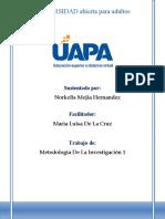 METODOLOGIA DE LA INVESTIGACION 1 TAREA 5