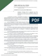Orientação Normativa ME nº 207-2019