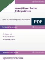 CV Cover Letter 培训 - 清华大学全球胜任力中心.pdf