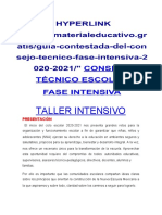 INTENSIVA CONTESTADO 2020-21' con usted