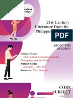 Orientation-21stCentury-Literature.pptx