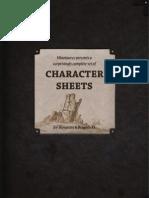 Character Sheet 3.5