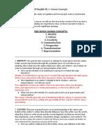 course concepts handout