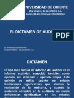 EL DICTAMEN DE AUDITORÍA