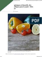 Aliments biogéniques et bioactifs, des aliments bénéfiques pour la santé - NHA Naturolistique