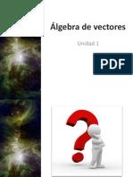 Álgebra de vectores