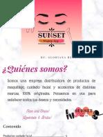 Catálogo Sunset Make Up!