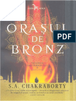 S.A. Chakraborty - Orasul de bronz.docx