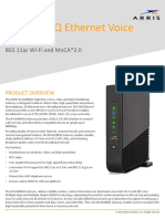 NVG468MQ Ethernet Voice Gateway Data Sheet