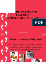Mixed Ability Classes