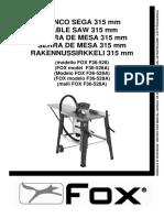 Banco Sega Circolare Fox Manuale.pdf
