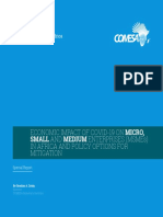 Impact of COVID-19 on MSMEs in Africa by Ibrahim Zeidy