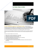 210 Predictions for Online Video in 2011