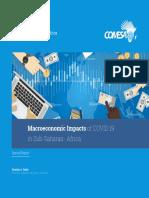 Macroeconomic Impacts of COVID-19 in Sub Saharan Africa