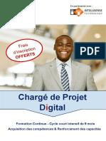 DEBS Brochure - Chargé de projet Digital