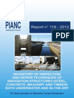 Report119_Part1 of 5 Inventory of Inspection and Repair Techniques of Navigation Structures (Steel, Concrete, Masonry and Timber) both Underwater and In-the-Dry  - 2013