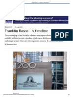 Franklin fiasco - A timeline _ Value Research