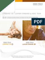 STANDARD 100 by OEKO-TEXR - Application_std100