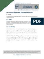 Dhs FBI Ied Initiators 2007