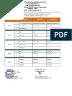 JADWAL SEMESTER GANJIL TP. 2020 - 2021 (KBM DARING) Rev 1