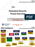 Homeland Security Threat Overview