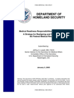 Dhs Medical Readiness 2005