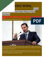 UAE | Syria Files | Caesar Act | Sanction Violations | TBZ