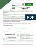 FORMULARIOS AUTORIZACION FACTURACION 1876