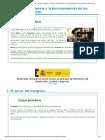 Tema 1 El sector del transporte y la documentación de los medios de transporte_