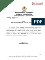 Raport Comisia de Munca a Camerei Deputatilor Alocatii Copii