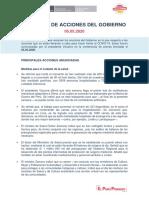05.05.2020 Reporte anuncios de acciones del Gobierno