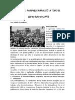 A 43 AÑOS UN PARO QUE HIZO PARAR AL PERÚ.doc
