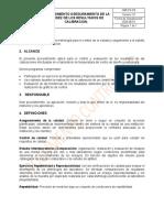 LC-PC-03 PROCEDIMIENTO ASEGURAMIENTO DE LA VALIDEZ DE LOS RESULTADOS DE CALIBRACION.