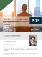 ISO 45001-Migracion e Integracion