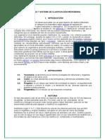 RASGOS TAXONÓMICOS Y SISTEMA DE CLASIFICACIÓN MICROBIANA