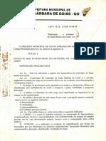 Lei N° 418-1997 Altera Estatuto dos Funcionarios