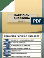 21. PARTICION SUCESORIA