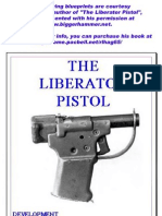Pistol Liberator Blueprints, 1942
