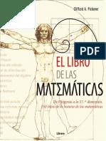 [Xixaro] Clifford Pickover - El Libro de Las Matemáticas_ de Pitágoras a La 57º Dimensión (2014, Ilusbooks) - Libgen.lc