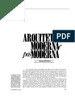 04 Arquitetura Moderna - Habermas