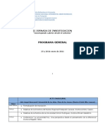 Programa General Iijornada Investigacion Nrpc