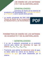 CLASES No. 4, 5 Y 6 - PARÁMETROS DE DISEÑO Y FUENTES DE ABASTECIMIENTO(modificacion1)