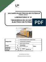 MANIOBRAS EN UN SISTEMA ELECTRICO DE POTENCIA.doc