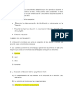 Cuestionario sobre ETICA