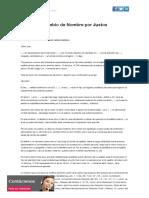 Demanda Cambio de Nombre por Justos Motivos _ Biblioteca Jurídica On line para Abogados y Estudiantes de Derecho_